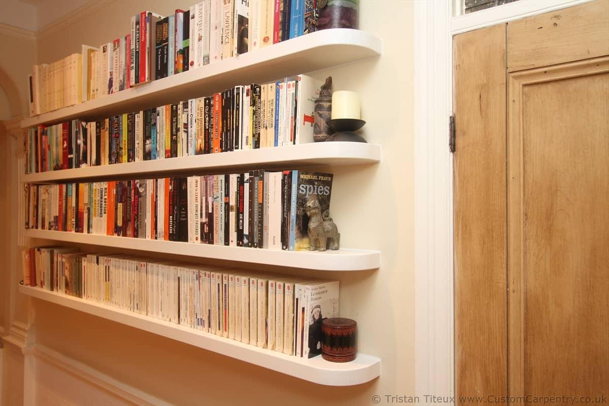 Floating shelves by Custom Carpentry UK 2
