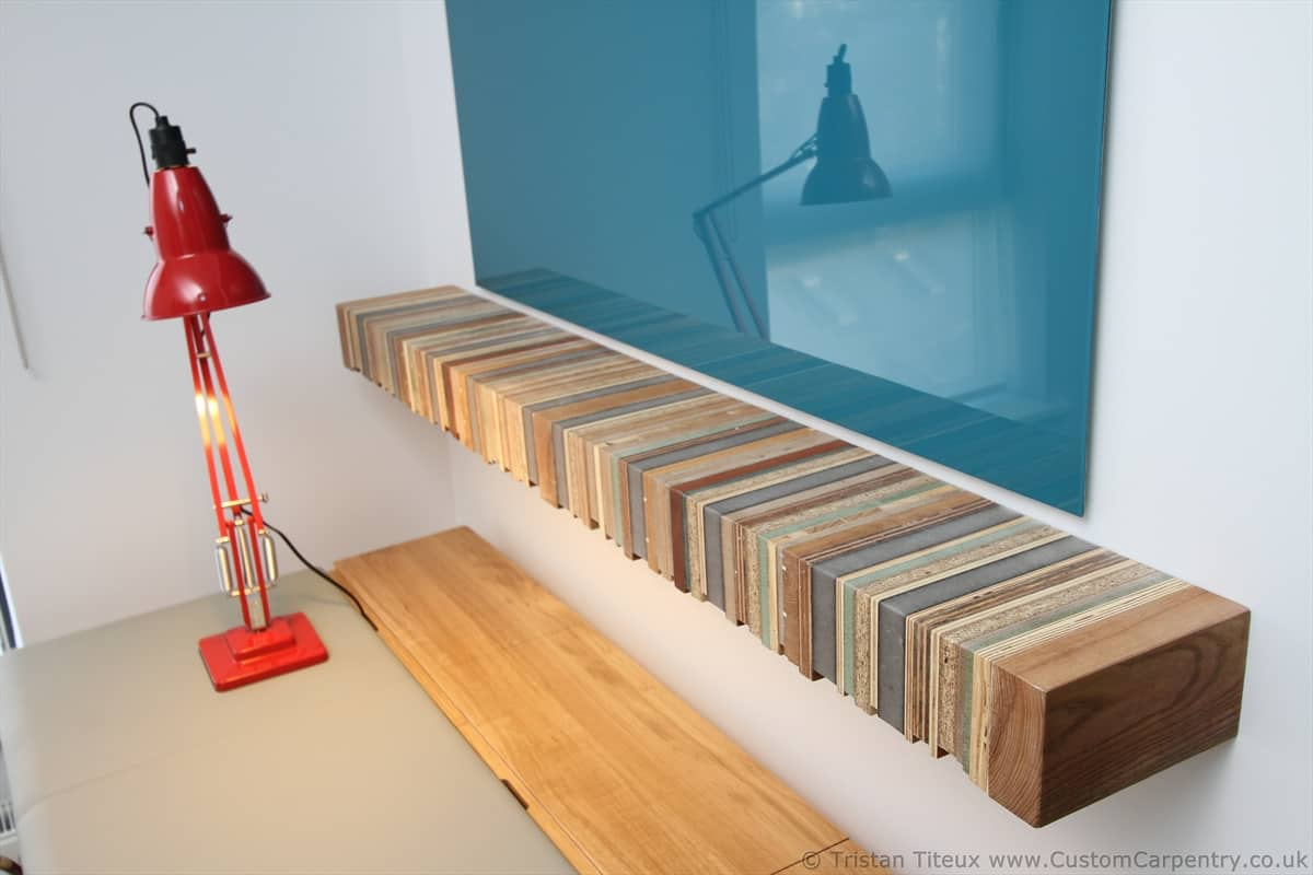 Floating Wood Shelves ~ Fitted floating shelves empatika