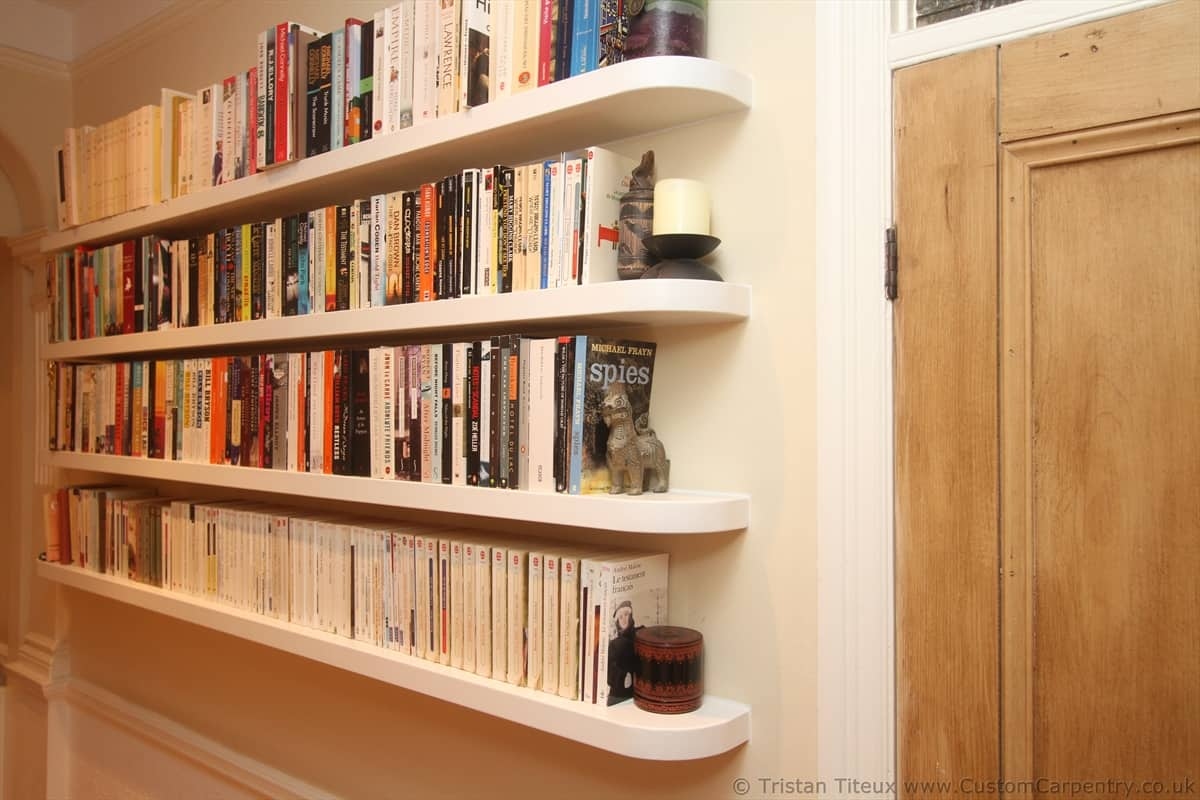 Fitted floating shelves empatika for Kitchen ideas book