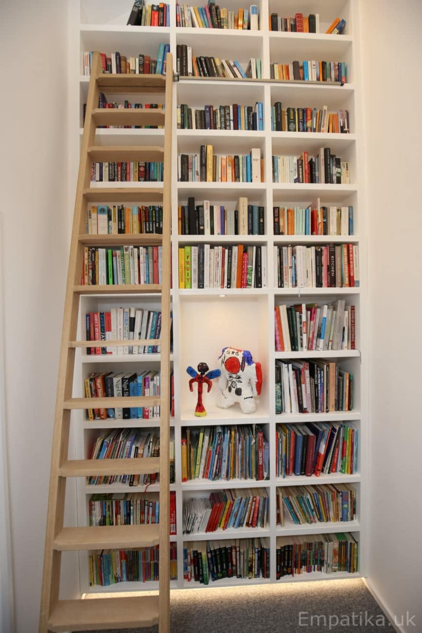 Large library unit designed by Empatika